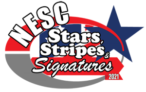 Logo for Stars Stripes Signatures - Red White and Blue themed